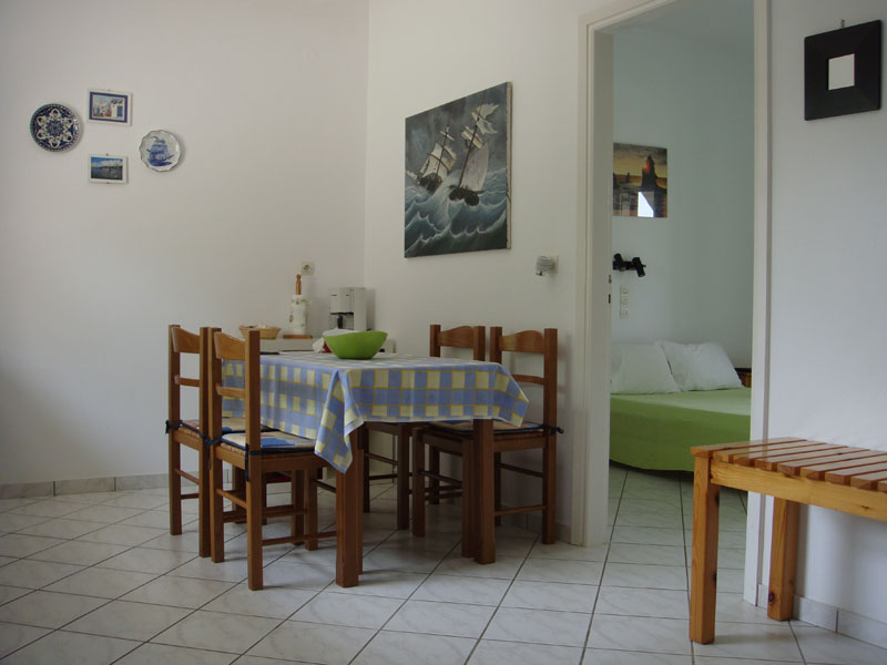 008 Apartment in Villa Eleftheria accommodation in corfu