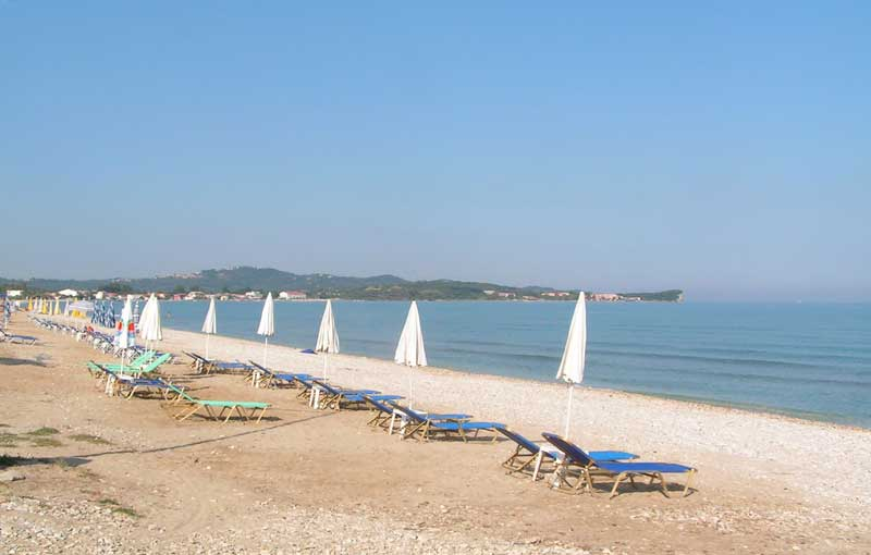 005 Acharavi Beach accommodation in corfu