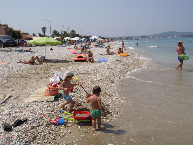 007 Acharavi Beach accommodation in corfu