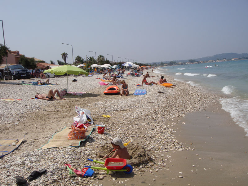 009 Acharavi Beach accommodation in corfu