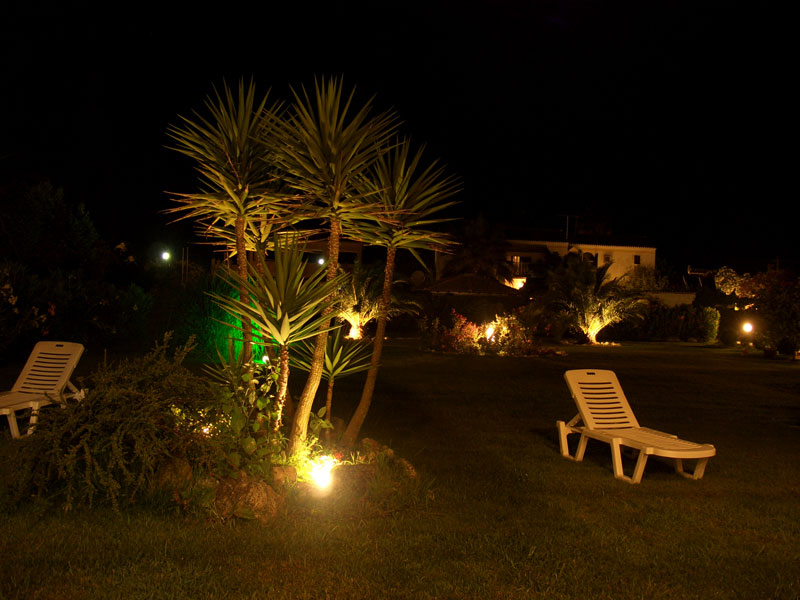 001 Villa Eleftheria by night accommodation in corfu