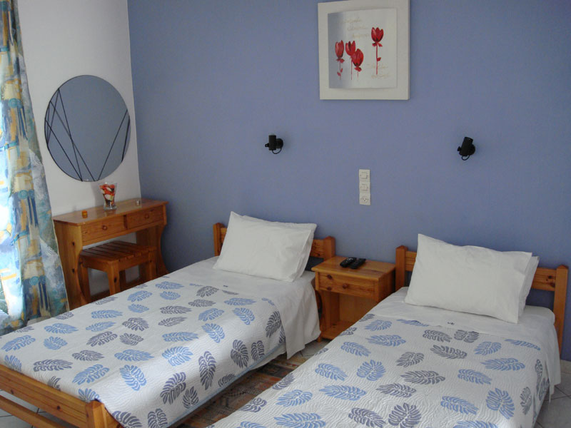 005 Studio in Villa Eleftheria accommodation in corfu