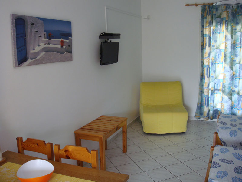 006 Studio in Villa Eleftheria accommodation in corfu