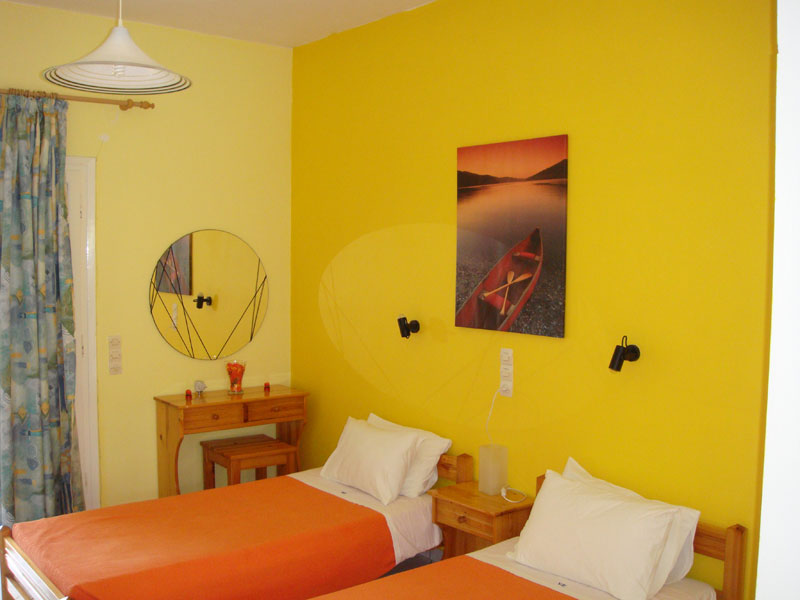 023 Studio in Villa Eleftheria accommodation in corfu